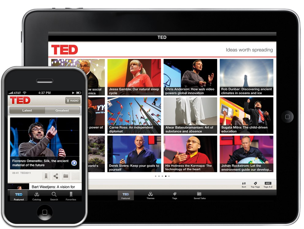 TED for iOS 1.0